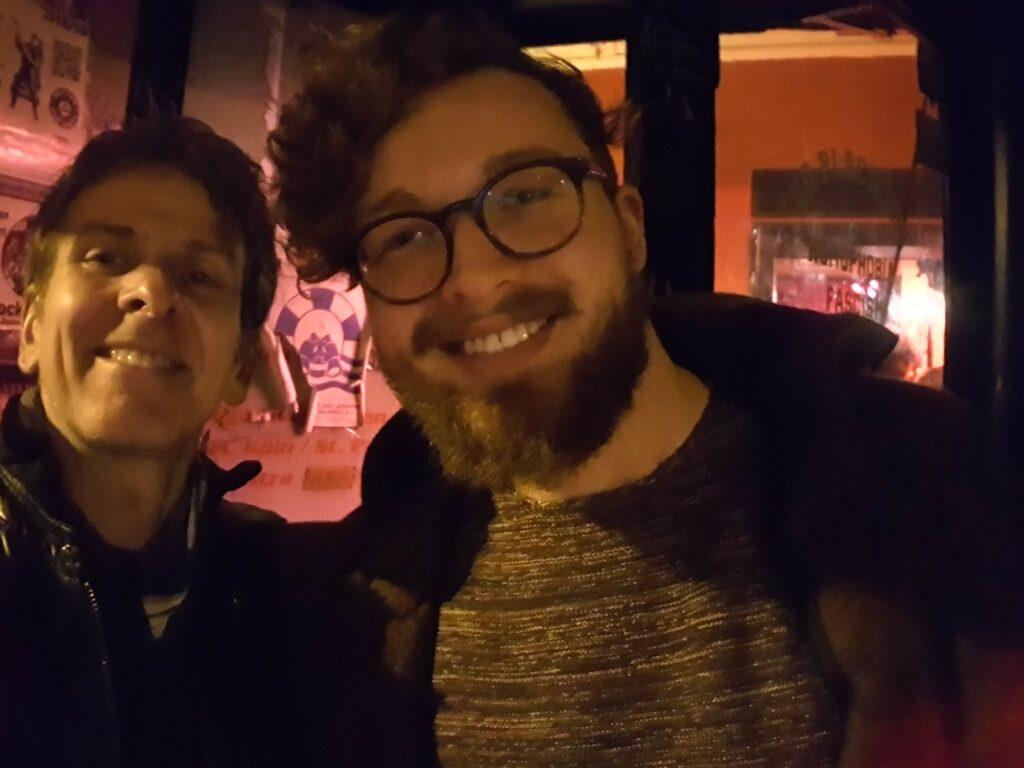 Tom Englert und Martin Szalay